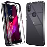PUXICU TCL Revvl 4 Case, T-Mobile Revvl 4 Case, Beautiful Colour TPU Shockproof Protection Scratch-Resisitant Shell Cover T-Mobile Revvl 4-Black