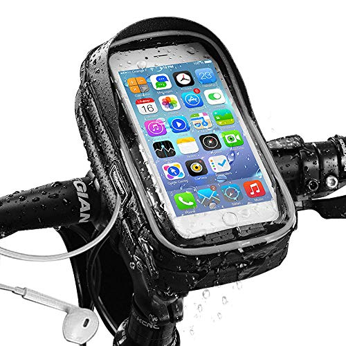 Innotic Bike Bag - Bike Phone Holder for Less Than or Equal to 6 inches,...