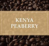 Kenya Peaberry Plus Rwaikamba Co-op Ngutu 100% Arabica Coffee Beans (Light Roast (City), 2.5 pounds Whole Beans)