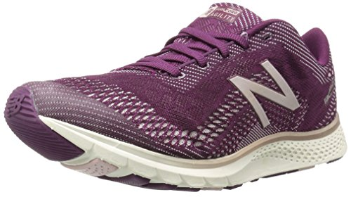 New Balance Women's Agility V2 Cross-Trainer-Shoes, Dark Mulberry/Faded Rose, 5 B US