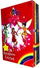 Rainbow Magic Colour Fairies Collection 7 Books Pack Set (Series 1 to 7) RRP £27.93 ( Ruby the Red Fairy, Amber the Orange...