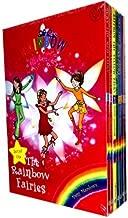 Rainbow Magic Colour Fairies Collection 7 Books Pack Set (Series 1 to 7) RRP £27.93 ( Ruby the Red Fairy, Amber the Orange Fairy, Saffron the Yellow Fairy, Fern the Green Fairy, Sky the Blue Fairy, Izzy the Indigo Fairy, Heather the Violet Fairy ) (Rainbo