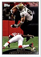 2009 Topps NFL Football Card #171 Jeremy Shockey New Orleans Saints - NFL Trading Card