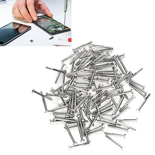 Tornillo de Reloj, Tornillo de Reloj de Cabeza Plana Práctico para teléfono móvil para reparadores