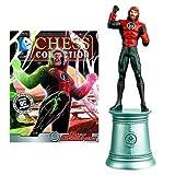 DC Superhero Guy Gardner - Pieza de ajedrez con revista coleccionista
