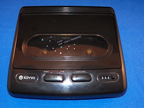 Kinyo VCR Rewinder Forward & Reverse & Counter