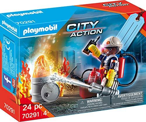 "Playmobil City Action 70291 - Gift Set ""Pompieri"", dai 4 anni"