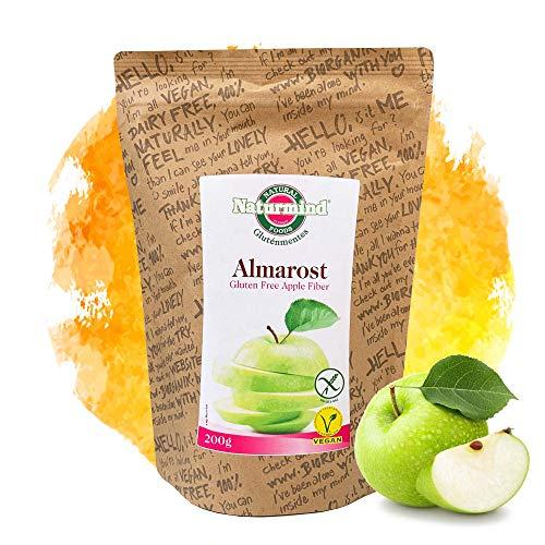 Naturmind Apfelfaser 200g / Glutenfrei/Fettfrei/Allergenfrei/Vegan/herzhaften Geschmack