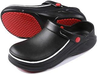 [テノシ] コック シューズ 厨房 作業靴 ワークマン 靴 食品関係作業用 調理靴 キッチンシューズ 耐油 耐滑 防水 滑り止め 男女兼用 22.5-27.0cm対応
