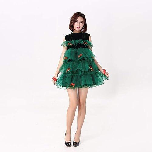 Tu satisfacción es nuestro objetivo CVCCV 2018 nuevos nuevos nuevos Disfraces de Navidad Disfraces de Navidad para mujer Disfraces de Navidad de la Princesa de la Falda del Traje de algodón  primera vez respuesta