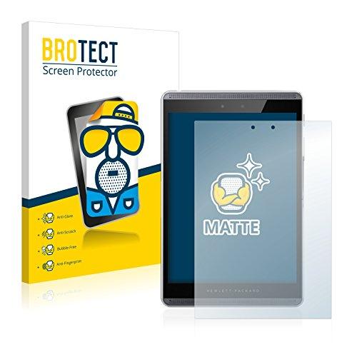 BROTECT 2X Entspiegelungs-Schutzfolie kompatibel mit HP Pro Slate 8 Bildschirmschutz-Folie Matt, Anti-Reflex, Anti-Fingerprint