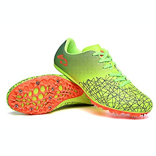 Zapatillas de Fútbol Hombre 8 Clavos Spikes Zapatos de Fútbol Spike Aire Libre Atletismo Training Botas de Fútbol Ligero Tacos Futbol Zapatos de Deporte,003,37