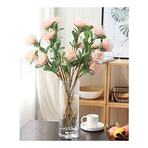LZL Künstliche Blumen und Vasen Silk...