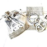 USA Handcrafted Fine Pewter Scarf Ring Women's Accessories Gift Set
