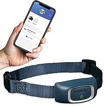 PetSafe SMART DOG Training Collar – Uses Smartphone as Handheld Remote Control – Tone Vibration 1-15 Levels of Static Stimulation – Bluetooth Wireless System – All in One Pet Training Solution