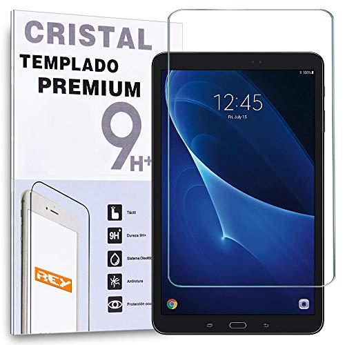 REY Protector de Pantalla para Universal 7', Medida 11,1 x 18,3cm, Cristal Vidrio Templado Premium, Táblet