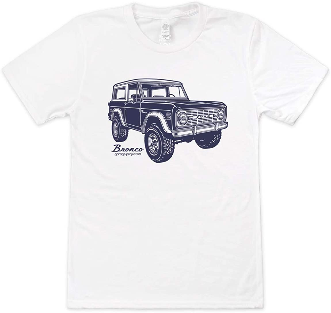 GarageProject101 Ranking TOP15 Manufacturer regenerated product Classic Bronco T-Shirt