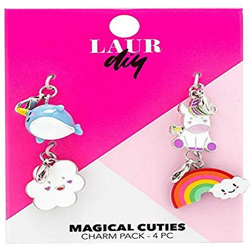 LaurDIY 37600049 Magical Cuties Charms Pack, Multi