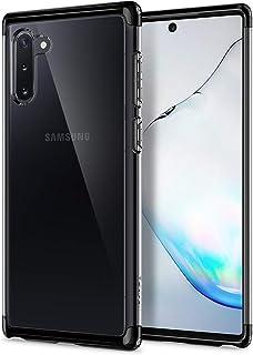 Spigen Neo Hybrid NC designed for Samsung Galaxy Note 10 cover/case with Bonus Chrome Gray Frame set - Black