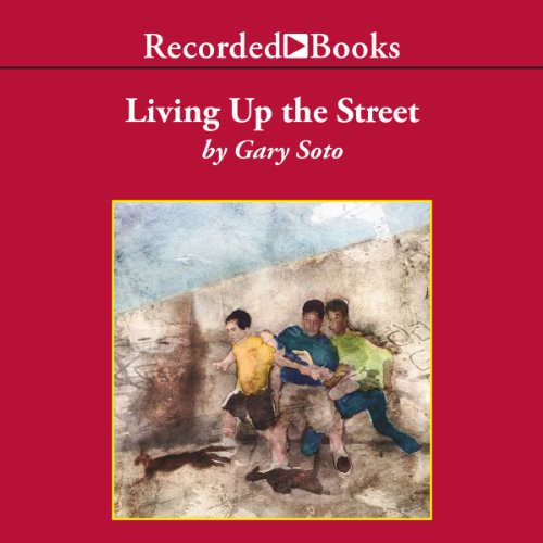 Living Up the Street audiobook cover art