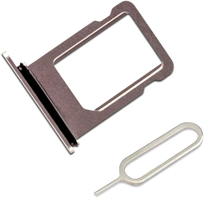 Cloth Silver LIBAI-V Sim Tray Holder Compatible with iPhone X with Removal Ejet Pin
