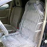 Alician - Coprisedili usa e getta, in plastica per auto, per garage, in plastica
