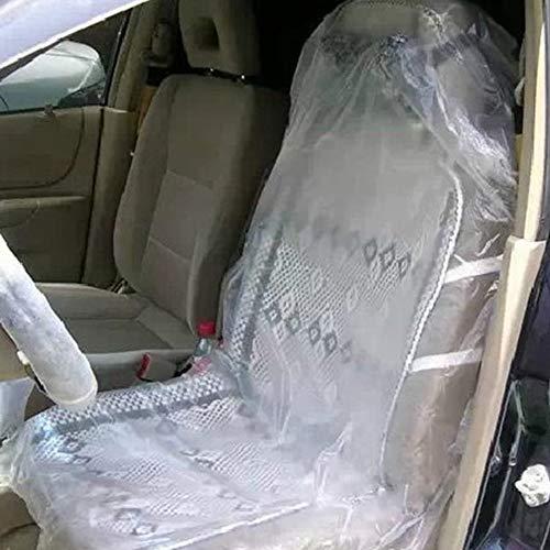 Alician Auto Wegwerp Plastic Stoel Cover Garage Wegwerp Plastic Stoelhoezen Voertuig Beschermers