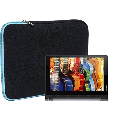 Slabo Tablet Tasche Schutzhülle für Lenovo Yoga Tab 3 (8 Zoll) Hülle Etui Hülle Phablet aus Neopren – TÜRKIS/SCHWARZ