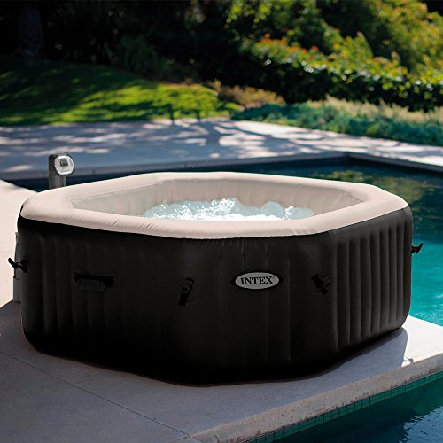 INTEX PureSpa Bulles & Jets noir 4 places 201x71cm