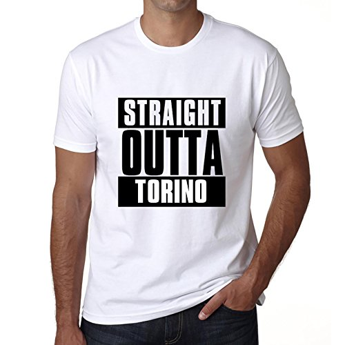 One in the City Straight Outta Torino, Camisetas para Hombre, Camisetas, Straight Outta Camiseta