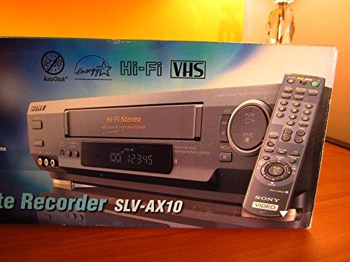Discover Bargain Sony SLV-AX10 VCR