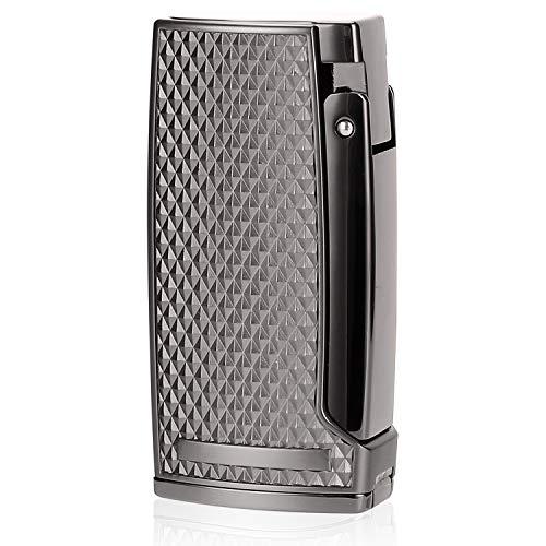 CiTree Cigar Torch Lighter, 3 Jet Flame Butane Lighter with Cigar Punch