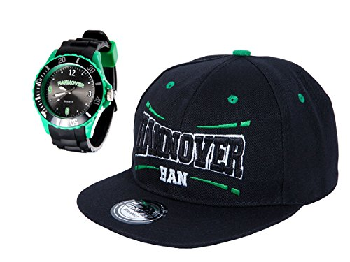 Alsino Hannover Set Fußball Fanartikel Fanset Cap Uhr Armbanduhr Snapback Städte