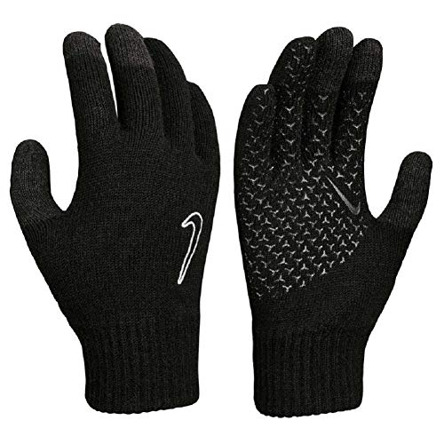 Nike Knitted Tech and Grip Gloves Handschuhe (L/XL, black/black/white)