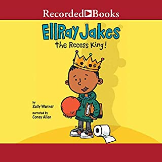 EllRay Jakes the Recess King! audiobook cover art