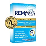 REMfresh LITE 0.5mg Low Dose Melatonin Sleep Aid Supplement (36 Caplets) | Drug-Free, Sleep Aid to Support Natural Sleep for Children 6 Years+ and Adults | #1 Doctor Recommended | Easy-to-Swallow