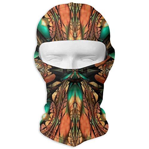 Sitear Kunststof Achtergrond Tegel reliëf Abstract Kleurrijke Volledige Gezicht Masker Hood Nek Warm Voor Mannen En Vrouwen Outdoor Sport Winddicht Zonnescherm Aangepast