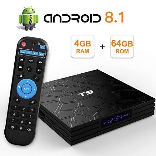 professional EVER EXPRESS T9 Android 9.0 TV Box 4 GB DDR3 RAM 64 GB ROM RK3318 Quad Core Cortex-A53 64-bit…