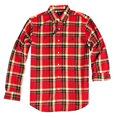 Ralph Lauren Flannel Shirt With Elbow Patches