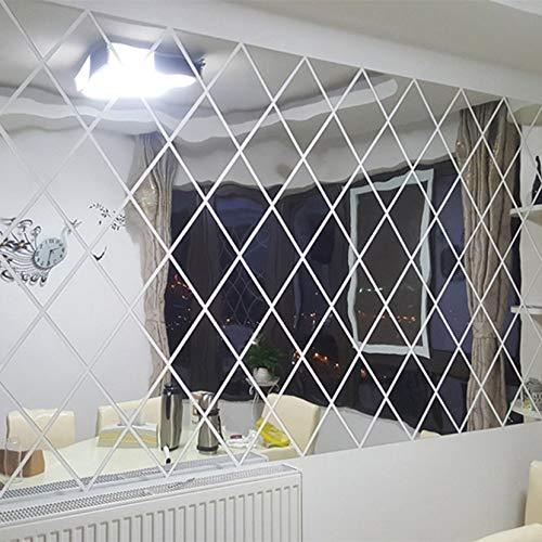 3D-spiegel, afneembare waterdichte zelfklevende spiegel-sticker, voor thuis of in de badkamer