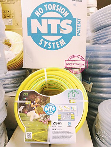 Gartenschlauch NTS - No Torsion System 25 m Ø int 15 mm = 5/8 Zoll