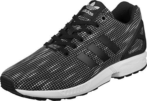adidas ZX Flux, Scarpe da Fitness Uomo, Nero Negbas/Ftwbla 000, 43 1/3 EU
