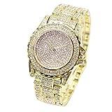 Bokeley Women's Watch, 2019 Fashion Simple Mens Watch Quartz Analog Business Casual Wristwatch (Gold)