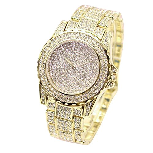 Review Of Muranba Women Fashion Luxury Diamonds Analog Quartz Vogue Watches