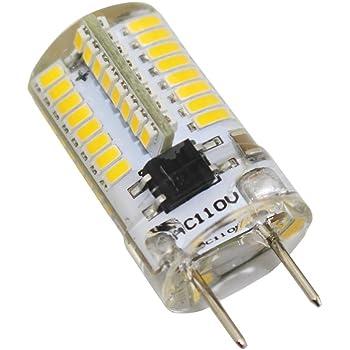 4000k Natural White 5 Pack Bi-Pin G8 Base Not Dimmable 200LM Over /& Under Cabinet Lighting G8 LED Light Bulb JandCase 2.5W Light Bulb 20W Equivalent Ideal for Kitchen Light