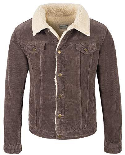 Rock Creek Heren Cord Jacket winterjas teddyvoering H-211