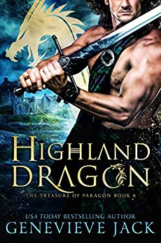 Highland Dragon (The Treasure of Paragon Book 6) by [Genevieve Jack]