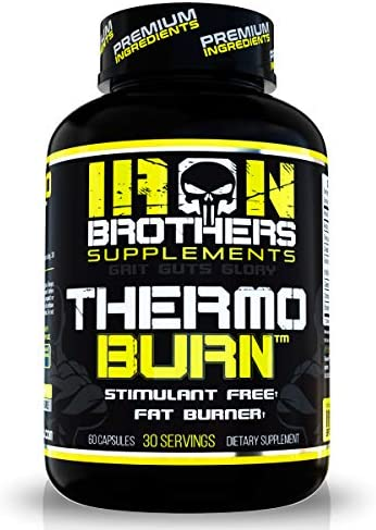 Stimulant Free Fat Burners for Women and Men Weight Loss Non Stim Thermogenic Fat Burner Dietary product image