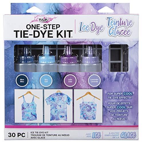 Tulip One-Step Tie-Dye Kit 4 colores de tinte de hielo DIY actividades y regalo idea