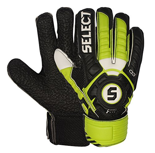 SELECT 03 Youth Hard Ground Goalkeeper Gloves with Finger...